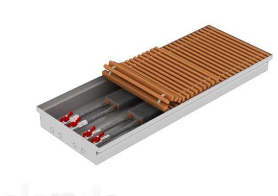 Внутрипольный конвектор Теплобренд CE330 арт.CЕ 330.1250.90/120