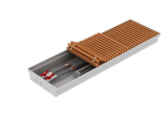 Внутрипольный конвектор Теплобренд T280mini арт.T 280.750.75