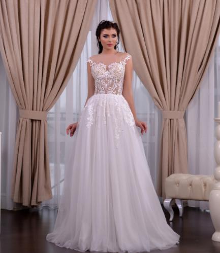 Wedding dress, model 652