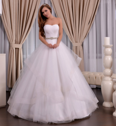 Wedding dress, model 632 (ballgown)