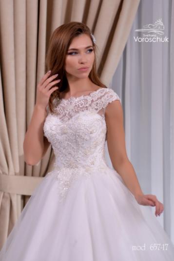 Wedding dress, model 657