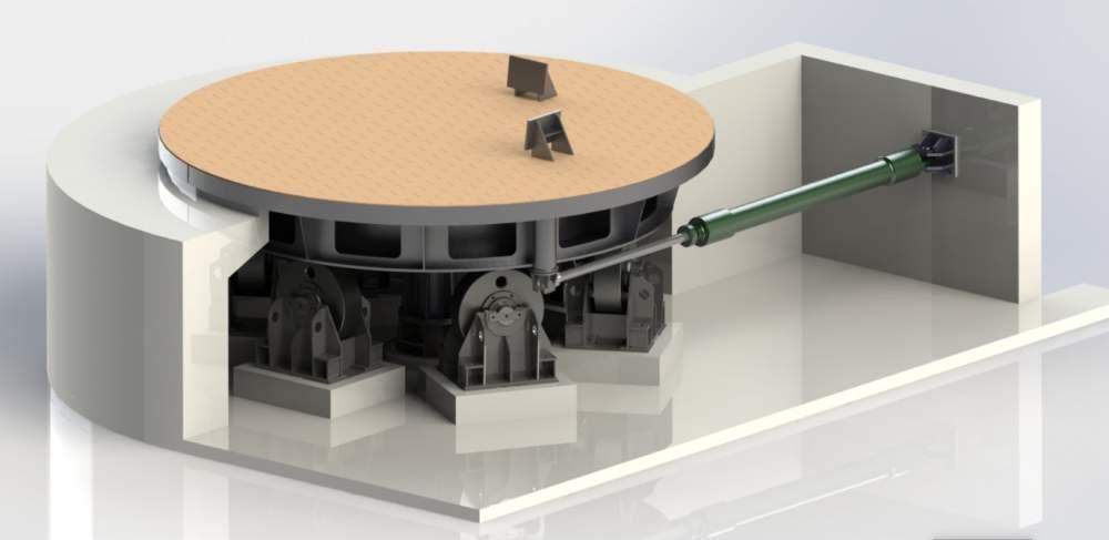 Buy Platform rotary for a razlivochny ladle