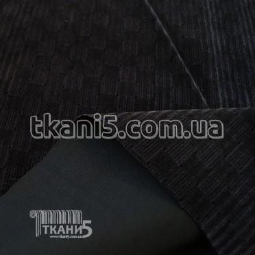 Buy Fabric Zamsh obivochny (dark gray) 7133