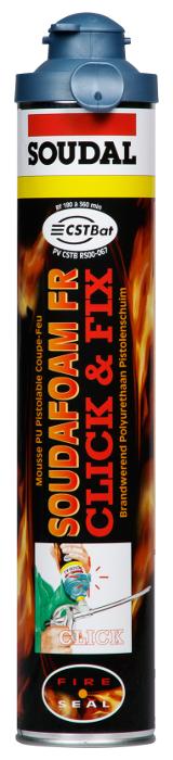 Fire-resistant Soudafoam FR clіck 750 foam of ml p_st.