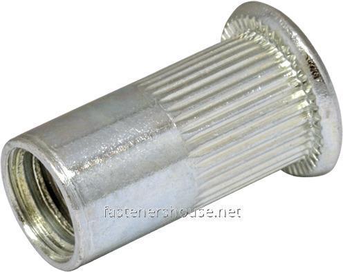 Гайка RFr М10/4-6,5 клеп рифл пл D13
