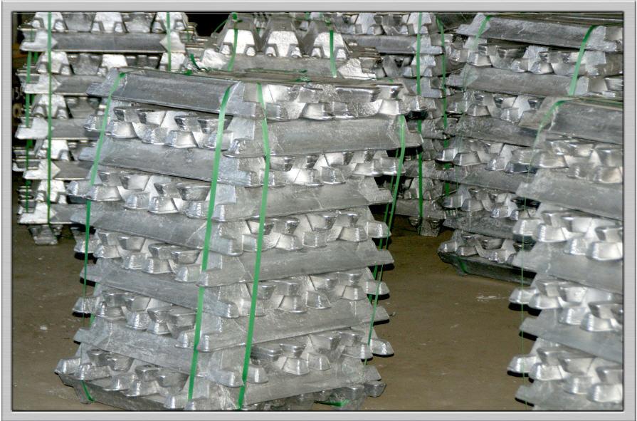 脱酸のためのアルミニウム