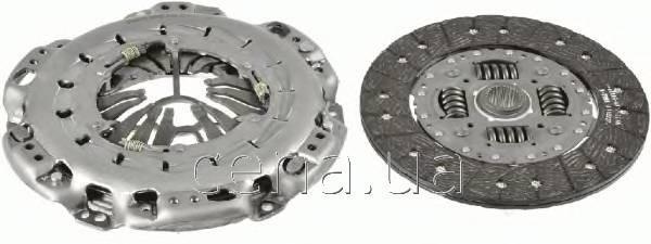 SACHS - Комплект сцепления Mercedes Sprinter (Мерседес Спринтер) 509 Дизель 2006 -  (3000950932)