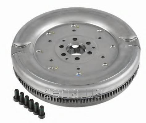 SACHS - Демпфер сцепления (TIP TRON DSG) Audi (Ауди) A3 1.9 Дизель 2003 - 2010 (2295000487)