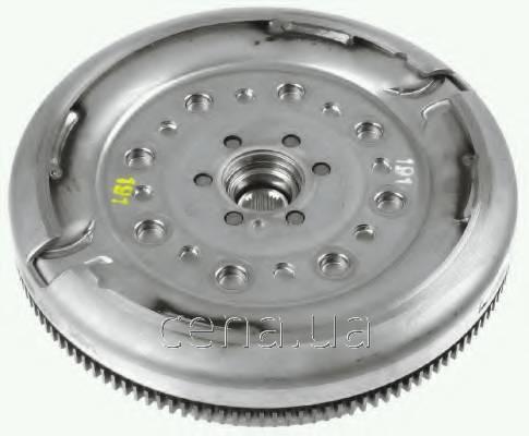 SACHS - Демпфер + комплект сцепления Volkswagen Golf (Фольксваген Гольф) 2.0 Дизель 2008 - 2012 (2289000280)
