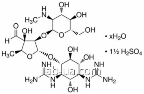 Стандартний зразок Стрептоміцин сесквісульфат гідрат, VETRANAL, 250 мг
