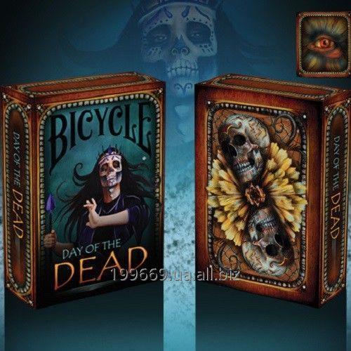 Купить Коллекционные игральные карты Bicycle Day of the Dead