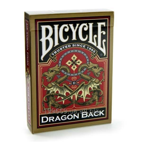 Купить Карты игральные Bicycle Dragon Back Gold