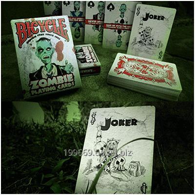 Купить Игральные карты Bicycle Zombie