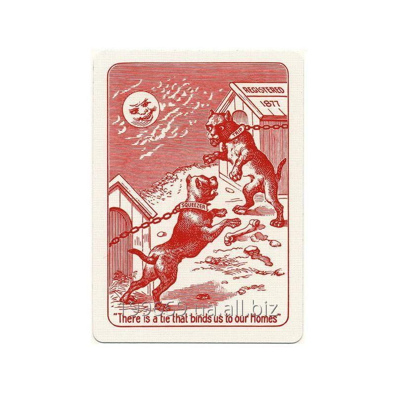 Игральные карты Squeezers Bicycle Playing Cards Bull Dog