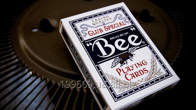 Купить Оригинальные игральные карты Bee для покера, Jumbo индекс