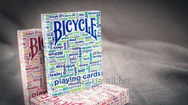 Купить Игральные карты Bicycle Table Talk