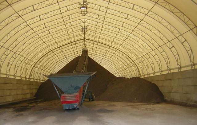 Быстровозводимые фермы, ангары, зернохранилища 16х100 м