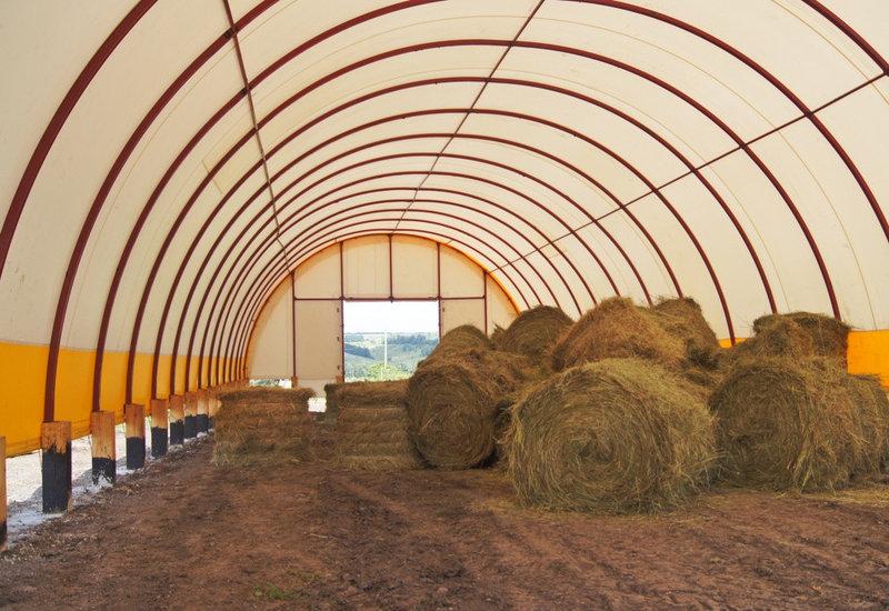 Купить Быстровозводимые ангары, зернохранилища, фермы 14х50 м