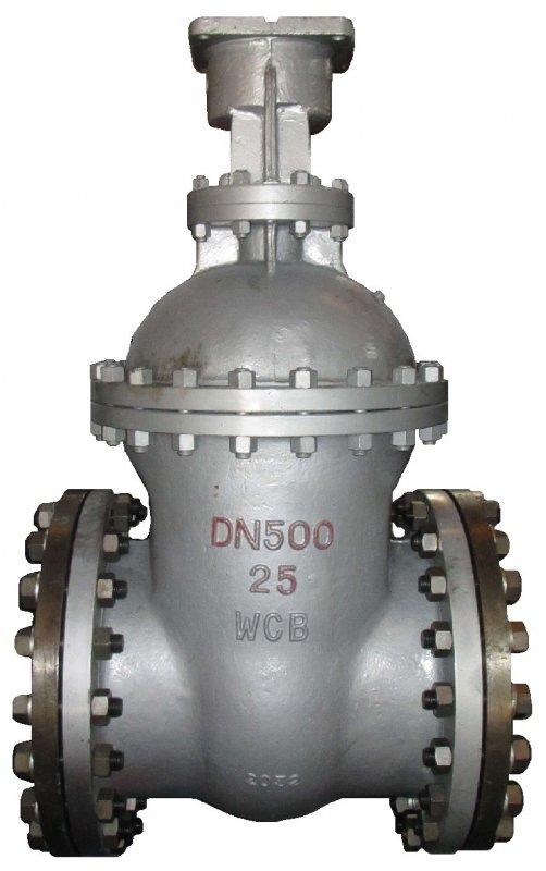 Задвижка клиновая30с15нжРУ40, DN 500. Управление:штурвал,ручнойредуктор,электропривод,пневмопривод