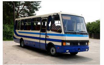 Автобусы междугородные А079.24  в Украине