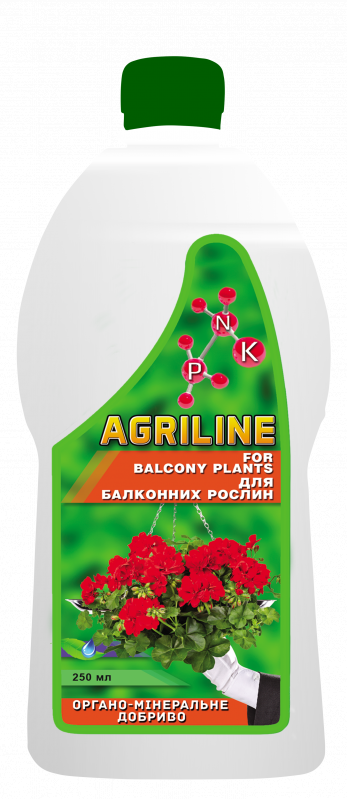 Агрілайн для балконних рослин 250мл
