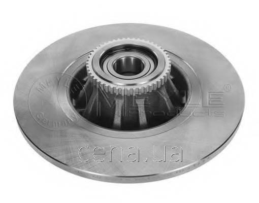 Тормозной диск задний (с подшипником) VAUXHALL VIVARO   (6155230022)