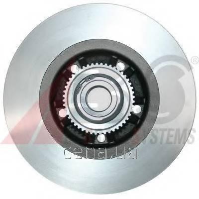 Тормозной диск задний (с подшипником) Opel Vivaro (Опель Виваро)   (17330c)