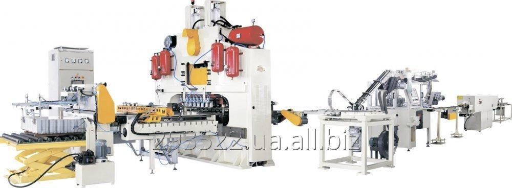 Buy The automatic transfer line on production of covers of EASY OPEN (EOE)