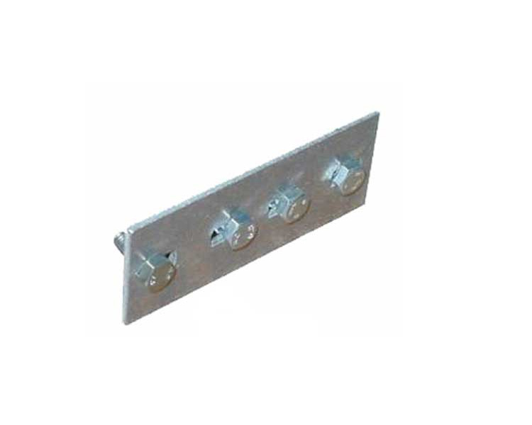 Купить Соединительные планки к лестнице для трубочиста (пара) KRAUSE коричневые