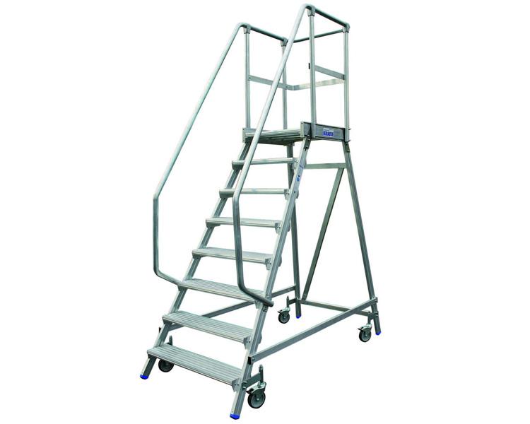 Купить Поручень правый для лестницы на 5-6 ступеней KRAUSE STABILO