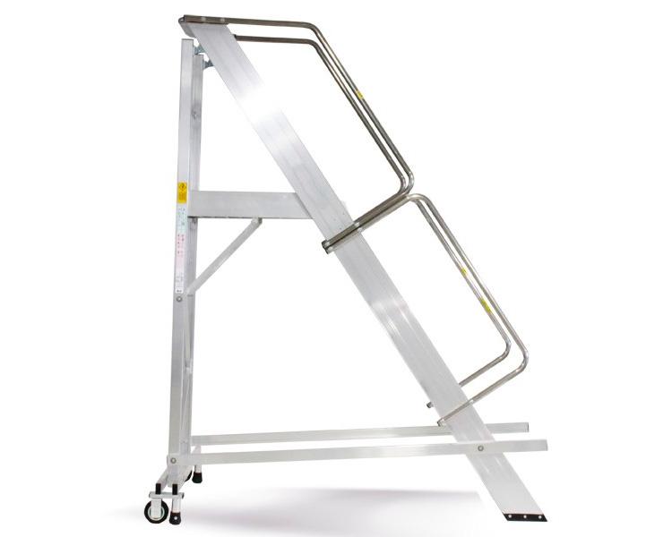 Buy Ladder with the SVELT CASTELLANA MAXI platform of 11 steps