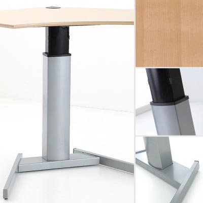 Рабочий стол с регулировкой высоты 501-19S (B) 095