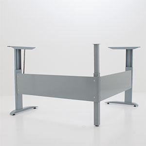 Угловой стол с регулировкой высоты 501-15 7 S (W)
