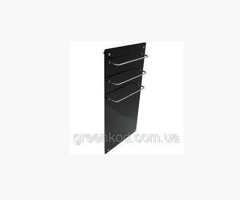 Стеклокерамические полотенцесушители HGlass GHT 6010 (черный), (1000*600*8)
