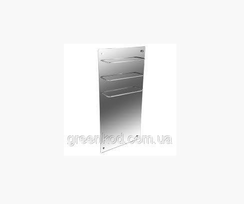 Стеклокерамические полотенцесушители HGlass GHT 5010 (зеркальный), (1000*500*8)