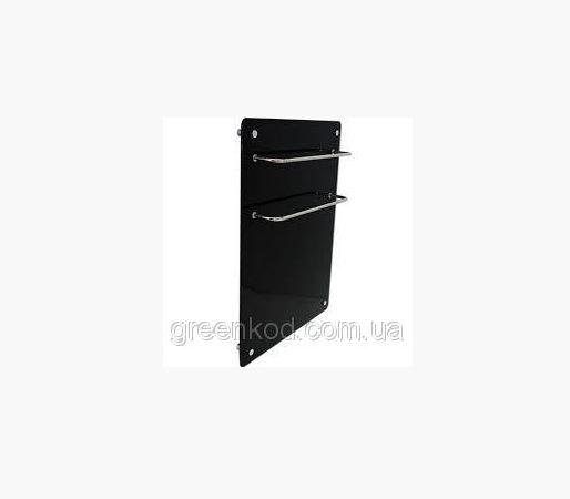 Стеклокерамические полотенцесушители HGlass GHT 5070 (черный), (700*500*8)