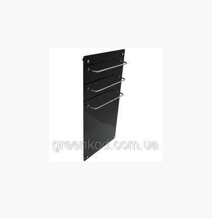 Стеклокерамические полотенцесушители HGlass GHT 5010 (черный), (1000*500*8)
