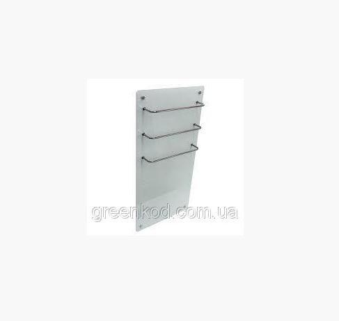 Стеклокерамические полотенцесушители HGlass GHT 5010 (белый), (1000*500*8)