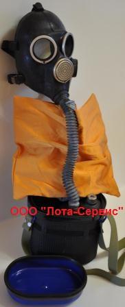 Изолирующий противогаз УИП-50  /60-КS  /12-KS
