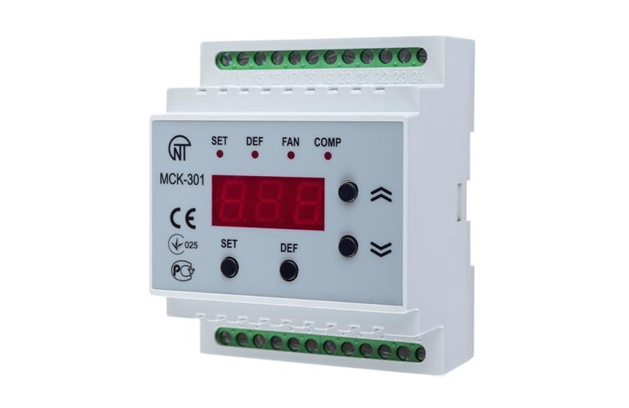 Контроллер управления температурными приборами MCK 301-3