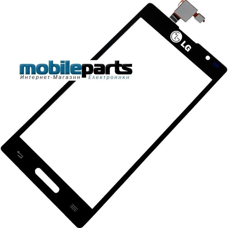 Купить Оригинальный Сенсор Тачскрин для LG Optimus P768 Черный