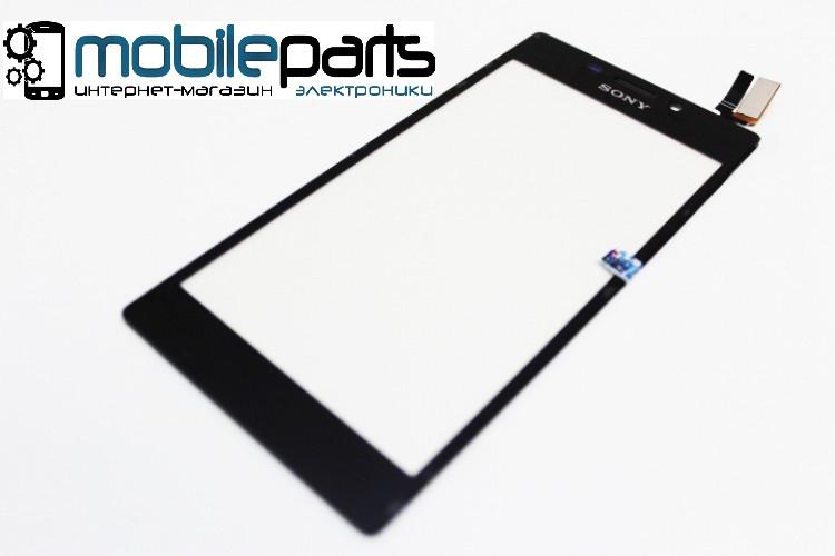 Купить Оригинальный Сенсор Тачскрин для Sony D2302 | D2303 | D2305 | D2306 | Xperia M2 Черный