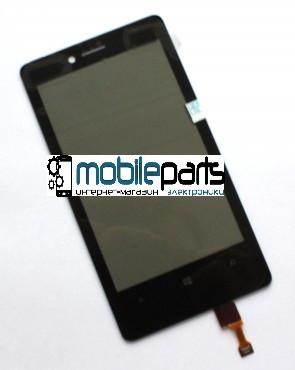 Купить Оригинальный Сенсор Тачскрин для Nokia 810 Lumia Черный