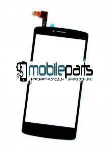 Купить Оригинальный Сенсор Тачскрин для Prestigio MultiPhone 5550 Duo Черный