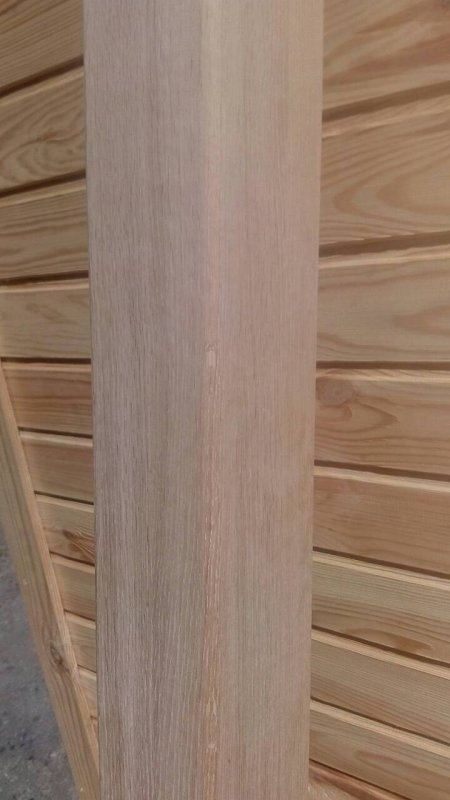 Балка потолочная из дуба 100*100 мм