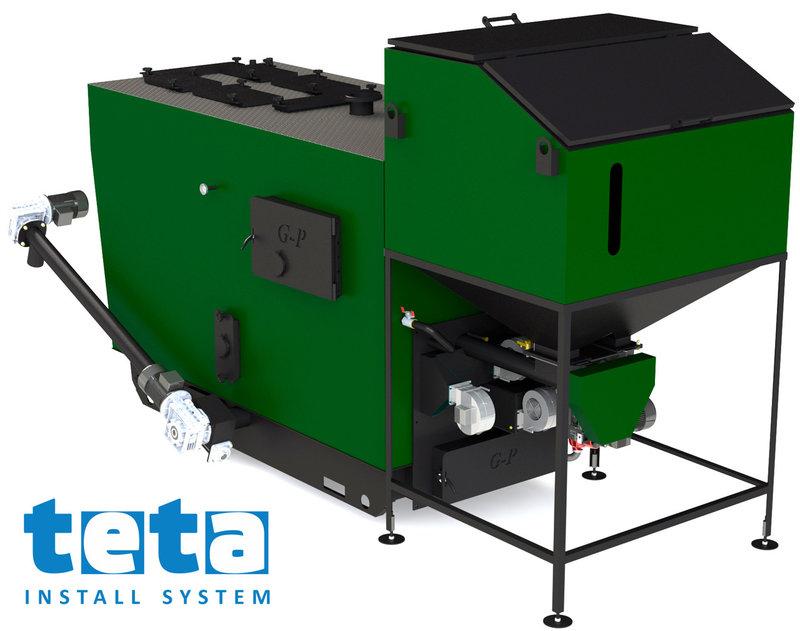 Котел на биомассе Gefest-Profi A 600 кВт