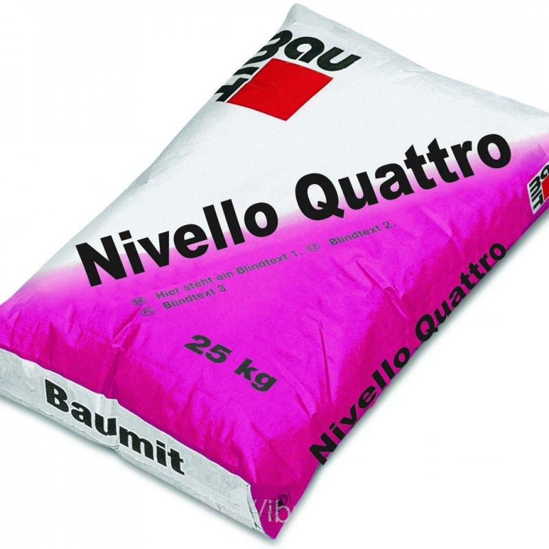 Купить Самовыравнивающаяся смесь Baumit Nivello Quattro 25 кг