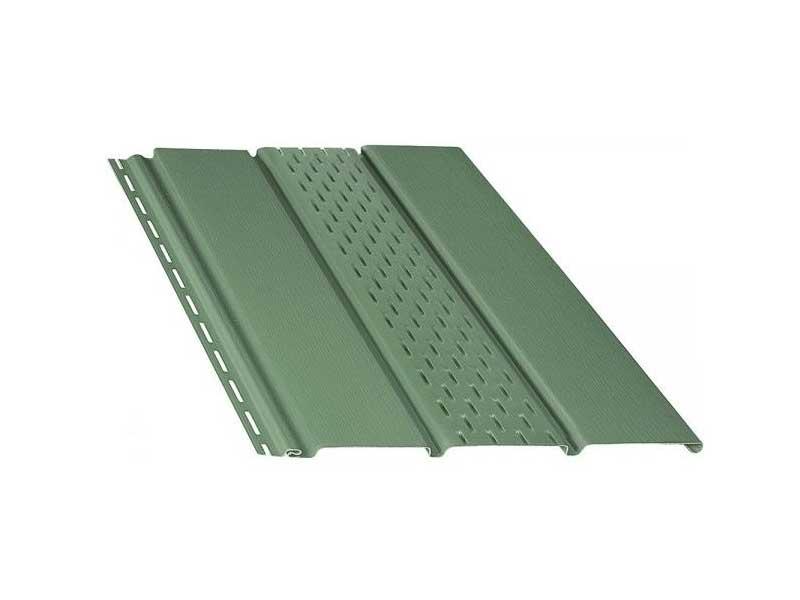 Купить Софит BRYZA перфорированный 4000х305 мм зеленый