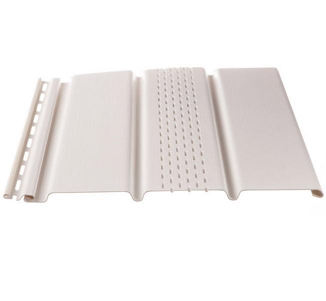Купить Софит Docke с центральной перфорацией Т4 3005х305 мм белый