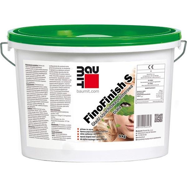 Купить Шпаклевка Baumit FinoFinish 9 кг белая